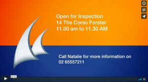 Open for inspection 14 the Corso Forster NSW